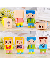 Authentic Color Will Be Random Cartoon Children Design Plastic Other Creative Stationery