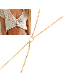 Petite Gold Simple Design