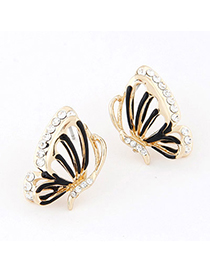 Hiking Black Diamond Decorated Butterfly Design