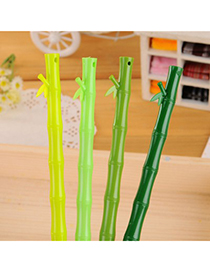 Infinity Color Will Be Random Bamboo Shape Simple Design