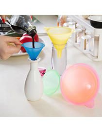 Customized blue candy color simple design plastic Household goods