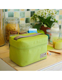Garnet Green Rectangular Shape Simple Design Nylon Household Goods