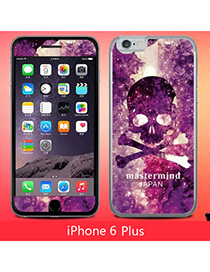 Stationary Multicolor Skull Pattern Simple Design (6 Plus)