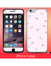 Specialty Multicolor Lips Pattern Simple Design (iphone 6 Plus)