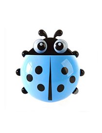 Emerald Blue Ladybug Shape Simple Design Plastic Household Goods