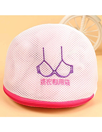 Specialty White Bra Pattern Simple Design Mesh Material Household goods
