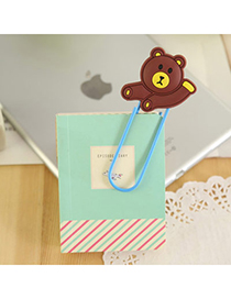 Airmail Brown Bear Shape Simple Design Silicon Other Creative Stationery