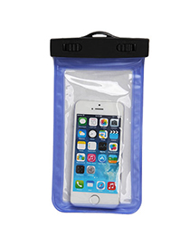 Transparent Blue Rectangle Shape Waterproof Case Design Pp Household Goods