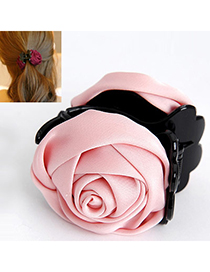 Elegant Pink Rose Shape Decorated Simple Design