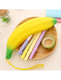 Korean Yellow Banana Shape Simple Design