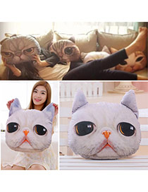 Personality Beige Cat Pattern Simple Design Cotton Household goods