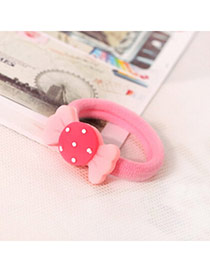 Sweet Pink Candy Decorated Simple Design  Acrylic Hair band hair hoop
