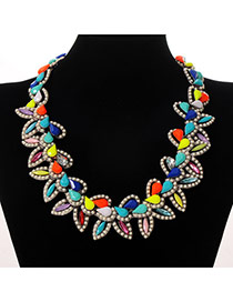 Charming Multicolor Water Drop Shape Decorated Simple Design