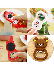 Sweet Brown Bear Pattern Multifunction Design Silicon Household goods