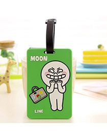 Fashion Green Cartoon Pattern Decorated Simple Design Silicone Household goods