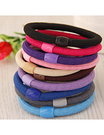 Trendy Random Pure Color Decorated Simple Hair Hoop&hair Band(1pcs)