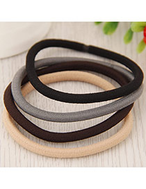 Fahion Random Pure Color Decorated Simple Hair Hoop&hair Band(1pcs)