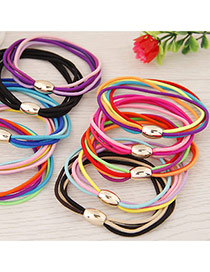 Sweet Random Muliti Color Decorated Multilayer Simple Hair Hoop&hair Band(1pcs)