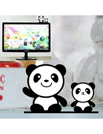 Cute Black+white Color Matching Decorated Panda Shape Home Furnishing Articles
