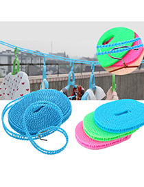 Fashion Random Color Pure Color Decorated Simple Clothesline