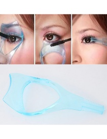 Fashion Blue Pure Color Decorated Simple Tool Of Lash Curler
