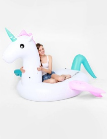 Lovely Multi-color Pegasus Shape Decorated Simpple Color Matching Flotage